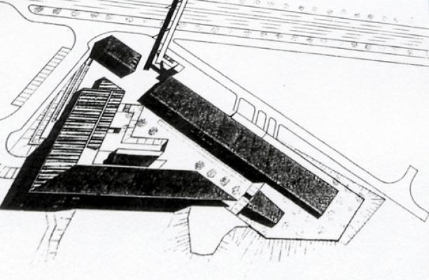 Groupe Scolaire Châtillon 92 – A A Plan de masse