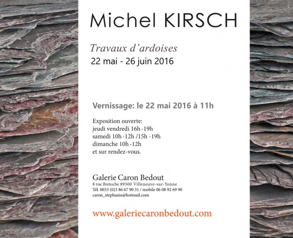 Expo Michel Guillaume Kirsch Caron Bedout